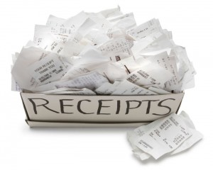 Expense Receipts